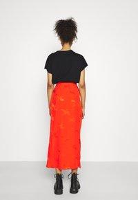 River Island - A-line skirt - orange - 2
