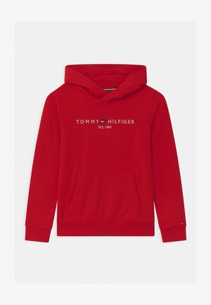 ESSENTIAL HOODIE UNISEX - Mikina s kapucí - red