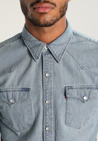 Levi's® - BARSTOW WESTERN - Shirt - red cast stone - 3