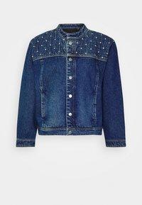 CATHRYN JACKET - Džínová bunda - medium blue denim