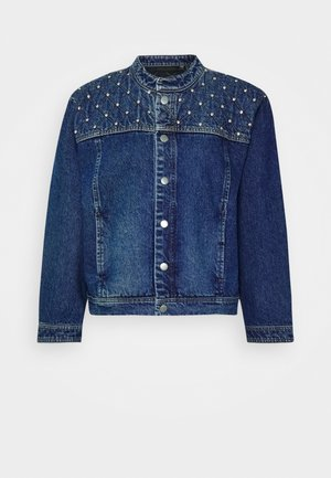 CATHRYN JACKET - Kurtka jeansowa - medium blue denim