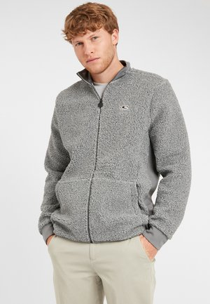 Cardigan - silver melee