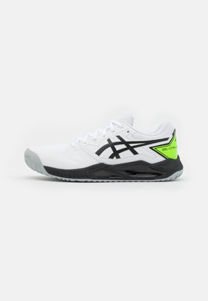 GEL-CHALLENGER 13 - Zapatillas de tenis para todas las superficies - white/green gecko