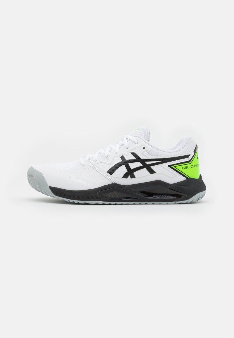 ASICS - GEL-CHALLENGER 13 - Tenisové boty na všechny povrchy - white/green gecko