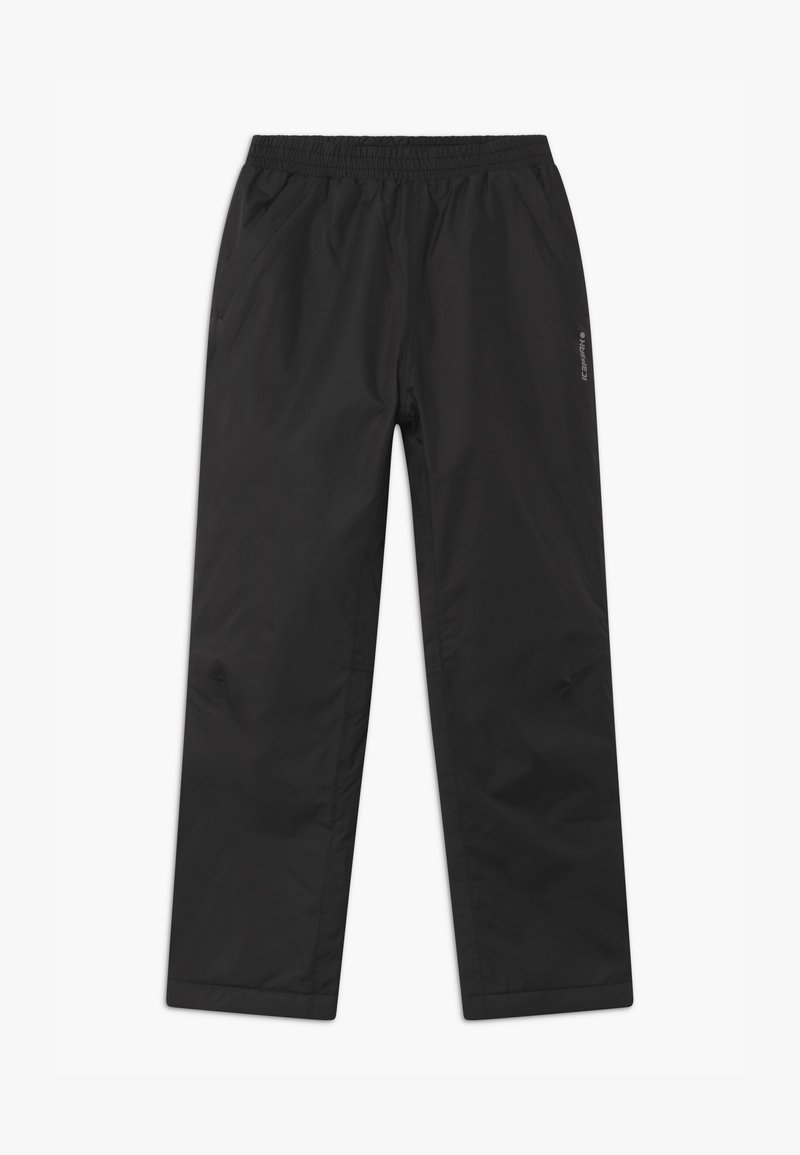 Icepeak - KENDALL UNISEX - Kalhoty - black