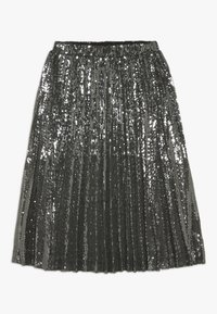 Bardot Junior - IVA SEQUIN PLEAT - Plooirok - gunmetal - 0