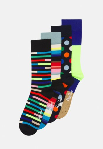 NEW CLASSIC 4 PACK UNISEX - Ponožky - multi