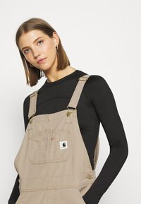 Carhartt WIP - BIB  - Peto - dusty brown - 4