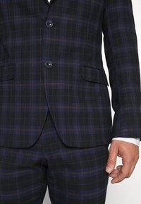 Ben Sherman Tailoring - CHECK SUIT - Completo - dark blue - 7