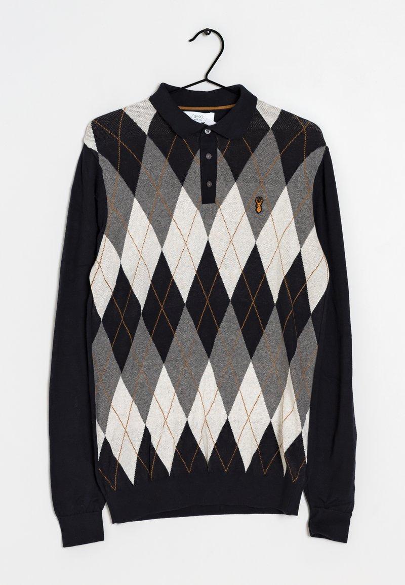 Next - Stickad tröja - multi-colored