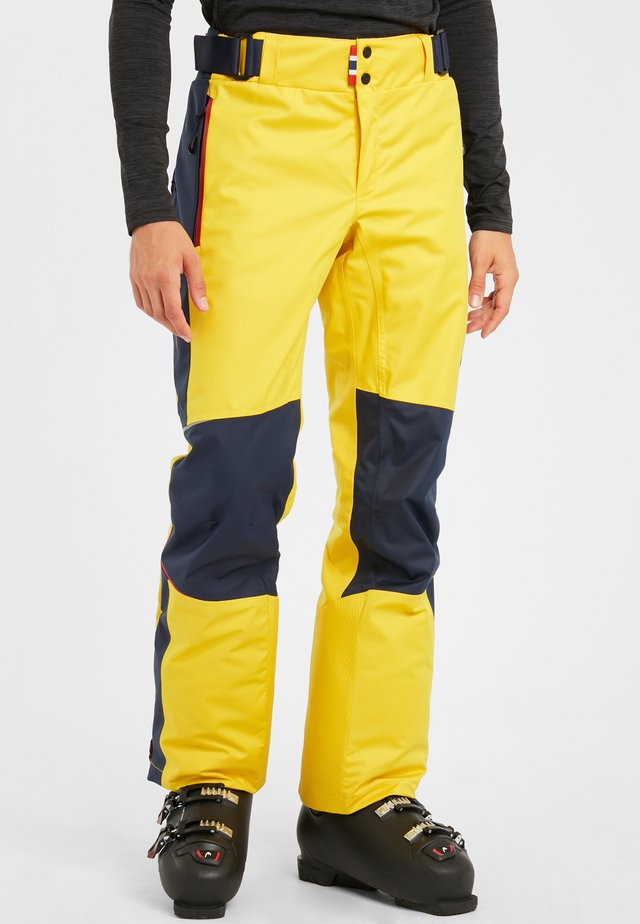 Outdoor trousers - golden yellow