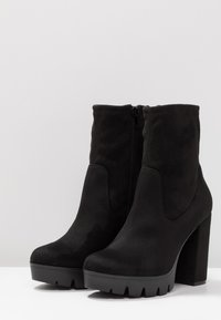 Bullboxer - High heeled ankle boots - black - 4