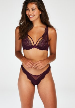 LATISHA - Thong - purple