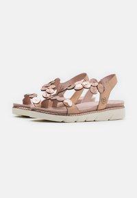 Bugatti - KIKO - Platform sandals - rose metallic - 1