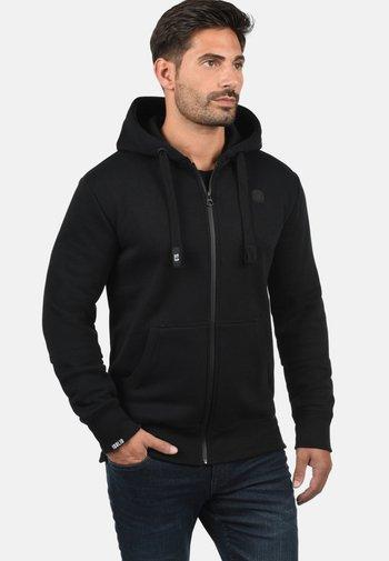 BENE - Zip-up sweatshirt - black