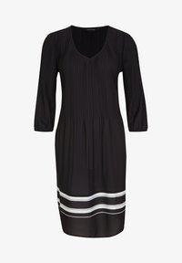 comma - MIT KONTRAST-DETAILS - Day dress - black - 4