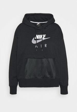 AIR HOODIE - Jersey con capucha - black/white