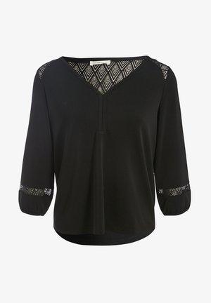 LANGARM  - Blouse - noir