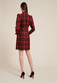 Luisa Spagnoli - GEMINI - Shirt dress - red, black - 1