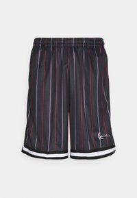 Karl Kani - SMALL SIGNATURE PINSTRIPE  - Shorts - black - 4