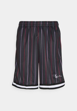 SMALL SIGNATURE PINSTRIPE  - Kraťasy - black
