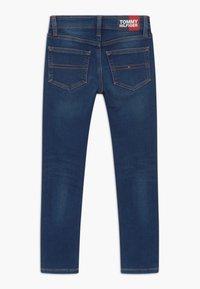 Tommy Hilfiger - SCANTON BRUSHED - Slim fit jeans - blue denim - 1