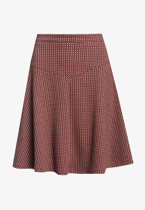 A-LINIEN-ROCK HOLLY - A-line skirt - rot allover