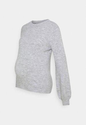 PCMPERLA - Jersey de punto - light grey melange