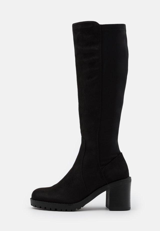 MAYA - Stivali alti - black