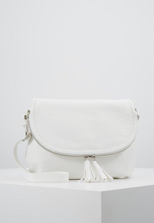 LARI - Taška spříčným popruhem - white
