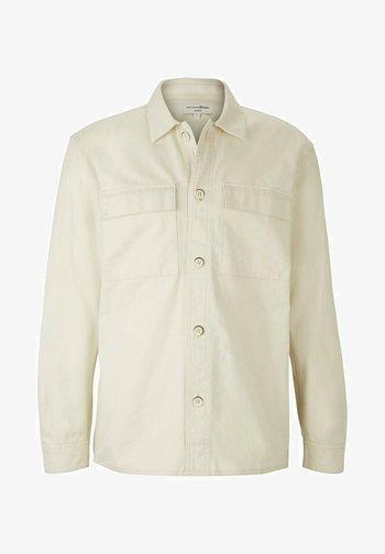 Shirt - soft beige solid