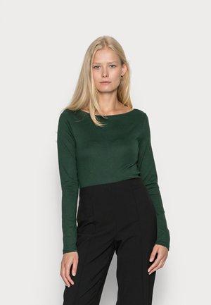 BATEAU - Pitkähihainen paita - dark emerald
