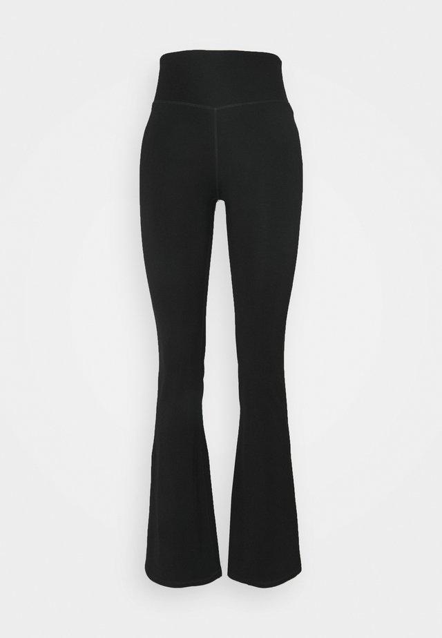 MINDFUL FLARE YOGA PANT - Pantaloni sportivi - black