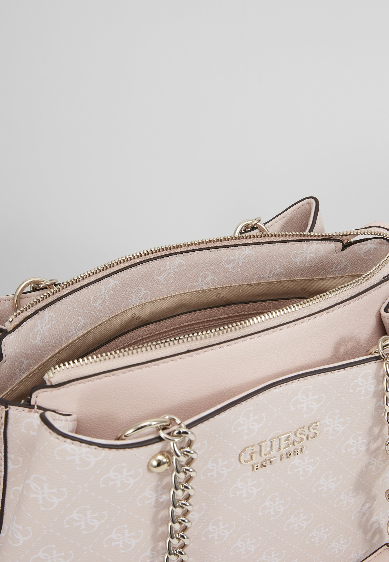 Guess LORENNA GIRLFRIEND SATCHEL Håndveske pinkrosa