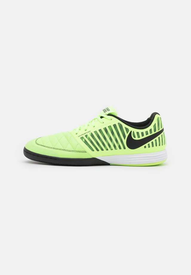 LUNARGATO II - Chaussures de foot en salle - ghost green/black/white