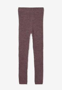 Name it - RIPPSTRICK - Leggings - Stockings - flint - 1