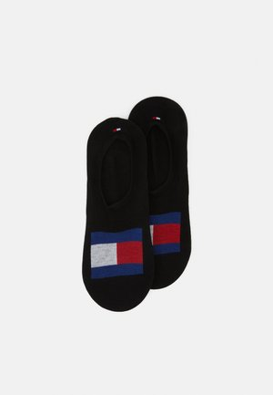 MEN FOOTIE FLAG 2 PACK - Socquettes - black