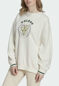 adidas Originals - TENNIS LUXE GRAPHIC SWEATER ORIGINALS PULLOVER - Sweatshirt - off white - 3
