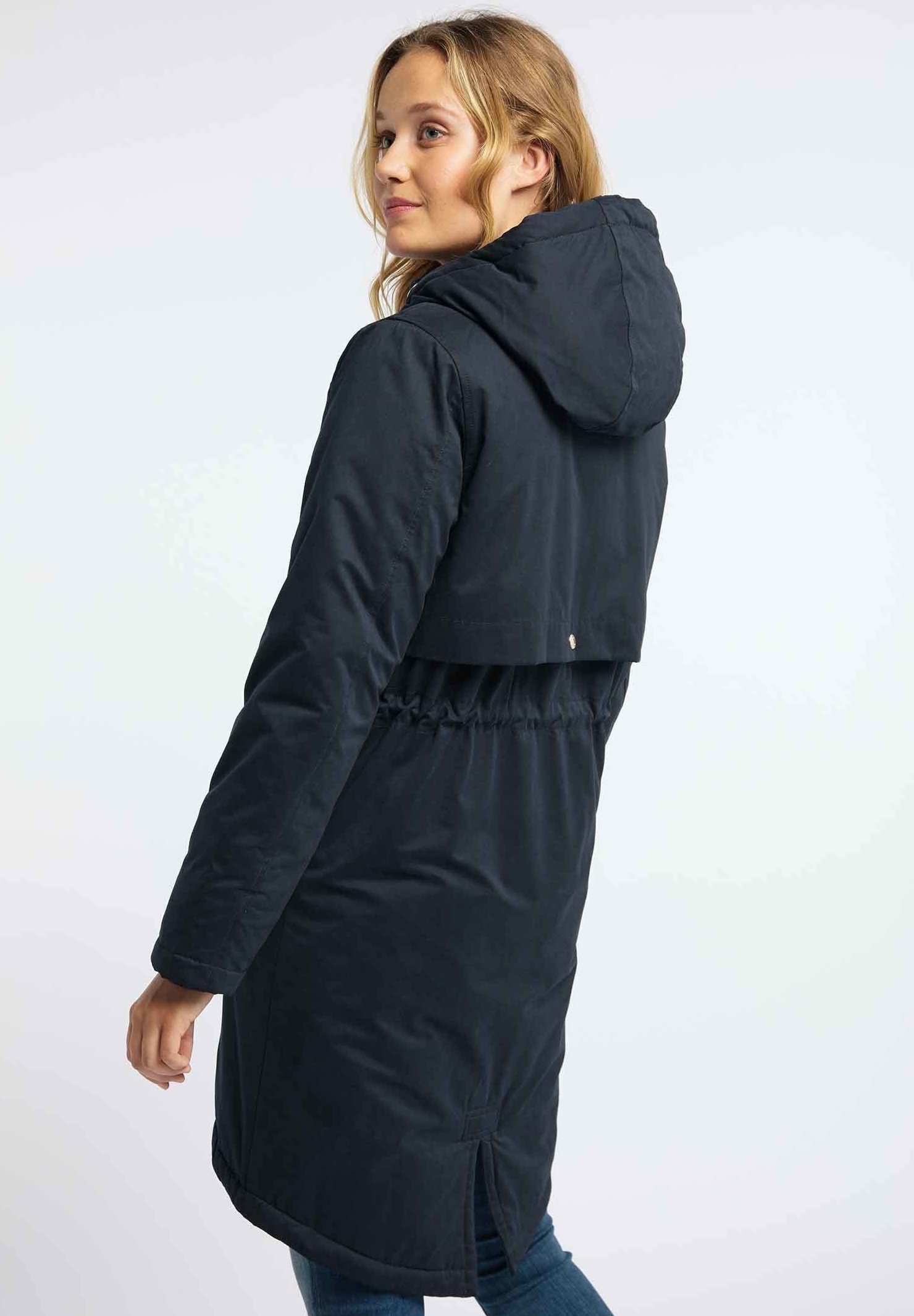 Very Cheap Women's Clothing myMo Winter coat marine yUHsnKRdX