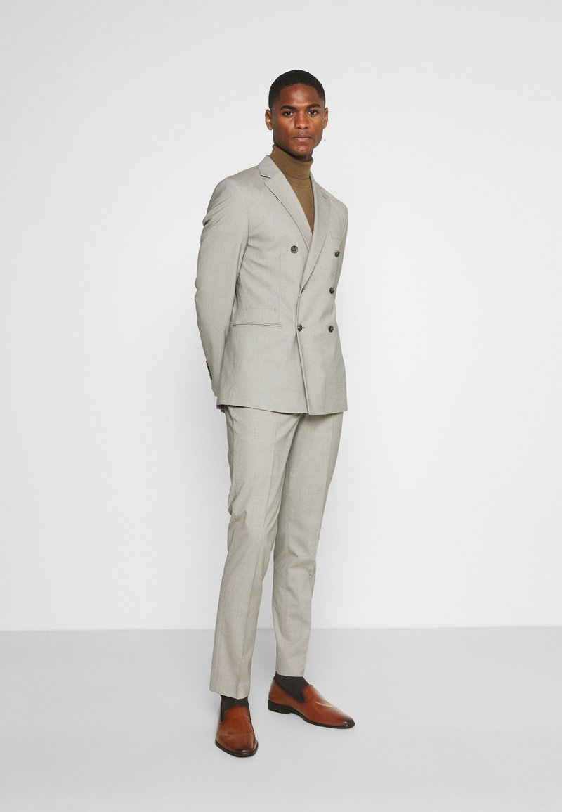 Selected Homme - SLHSLIM MAZELOGAN - Traje - sand