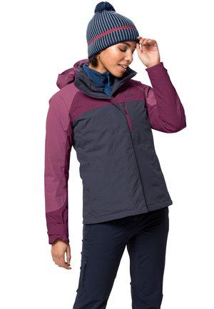 WHITNEY PEAK 3IN1 - Winter jacket - graphite