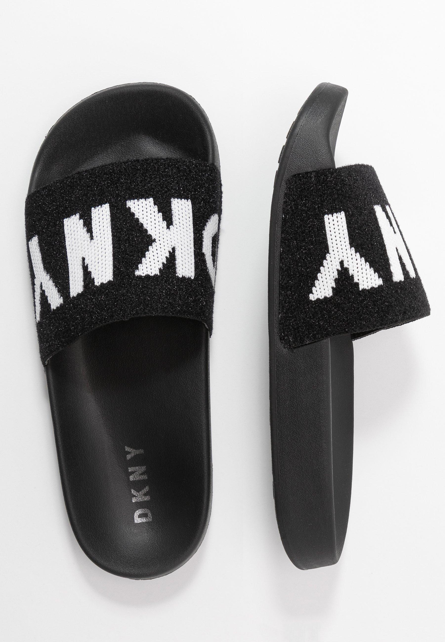 ZAX SLIDE Slip ins blackwhite