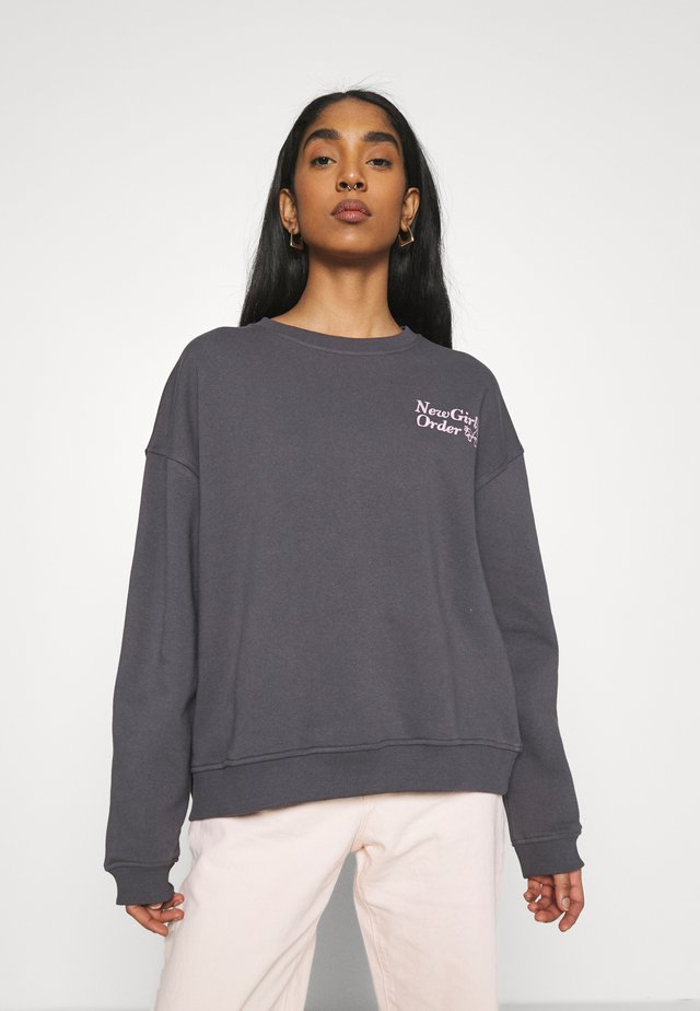 MUSHROOM - Sweater - charcoal