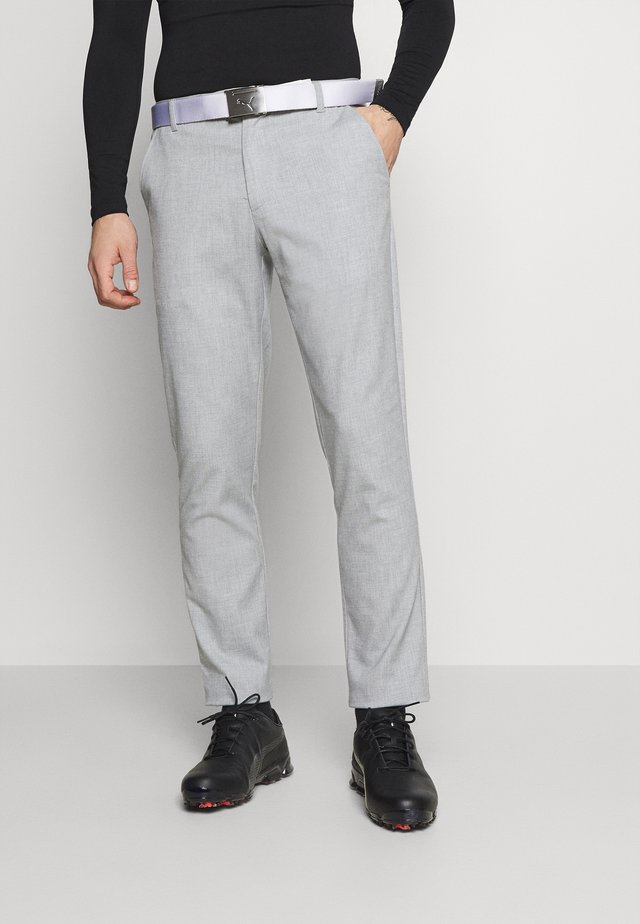 TAB TROUSER - Pantaloni - iron gate heather