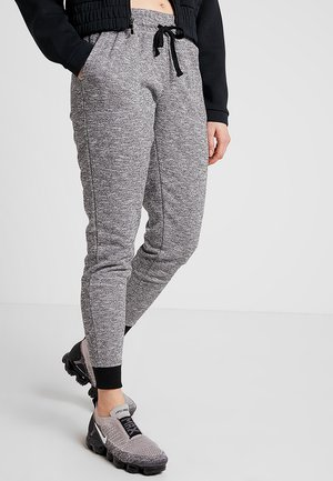 GYM TRACKPANT - Tracksuit bottoms - black varsity