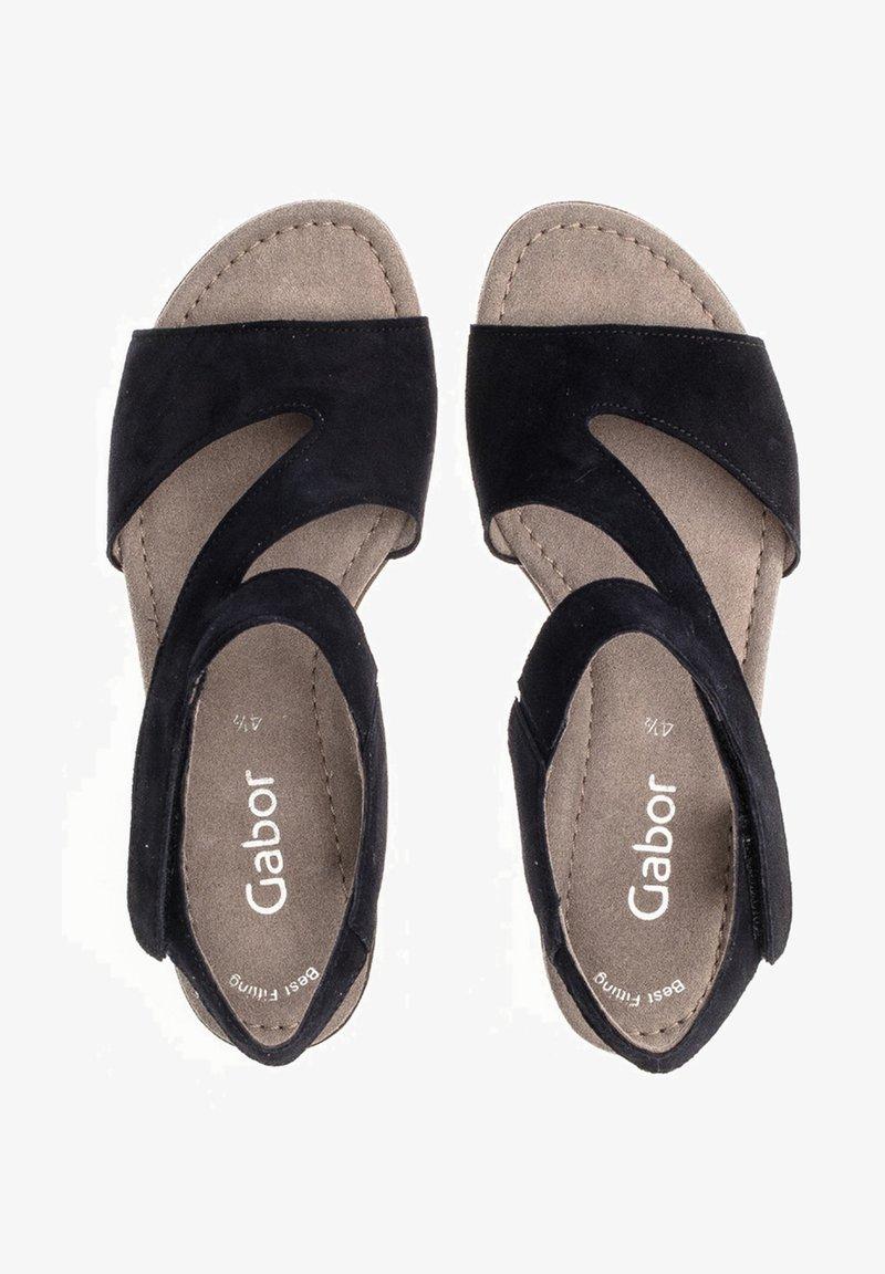 Gabor - Sandals - blau