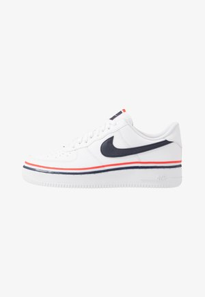 AIR FORCE 1 '07 LV8  - Sneakersy niskie - white/obsidian/habanero red
