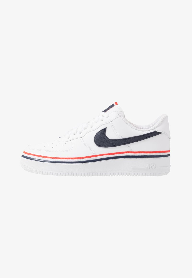 Nike Sportswear - AIR FORCE 1 '07 LV8  - Trainers - white/obsidian/habanero red