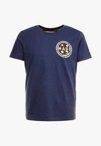 TOM TAILOR DENIM - T-shirt print - agate stone blue - 4