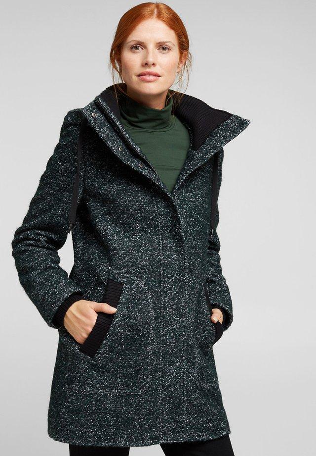 Manteau classique - dark teal green